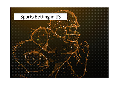 Sports Betting in the United States is steadily growing.