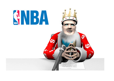 The King is reporting on the odds to win the 2015/16 NBA title - Cleveland Cavaliers are the favourites