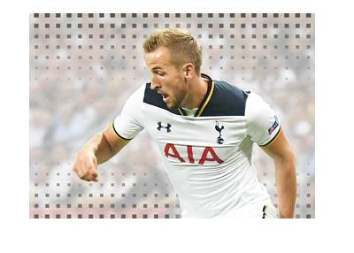 Harry Kane of Tottenham Hotspur - Action shot - Season is 2016/17.
