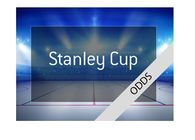 The odds for the 2018 Stanley Cup - Bet on it!