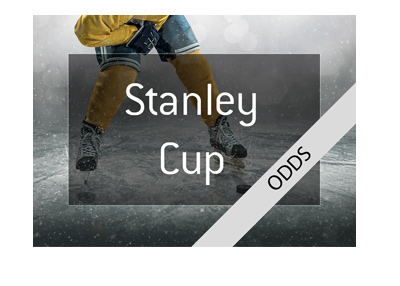 NHL Hockey - Stanley Cup - Odds to win in 2018 - Focus on Las Vegas Knights.