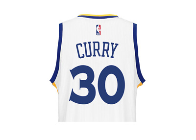 Steph Curry - Warriors Jersey - Year 2016 - Number 30