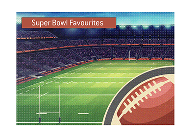 List of Super Bowl favourites for the 2019 season.  Here they are.