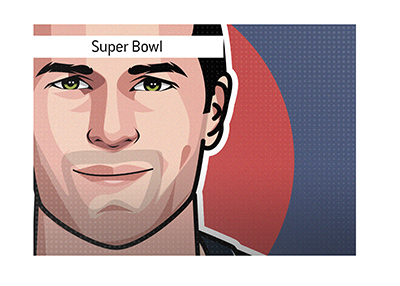 Tom Brady - The legendary American football player has six Super Bowl rings and is looking for more.