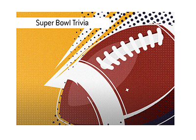 The King answers popular Super Bowl trivia questions.  Highest scoring game.