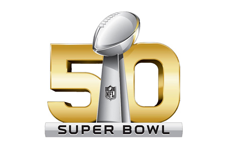 Super Bowl 50 - Year 2015 - Logo - Santa Clara - California