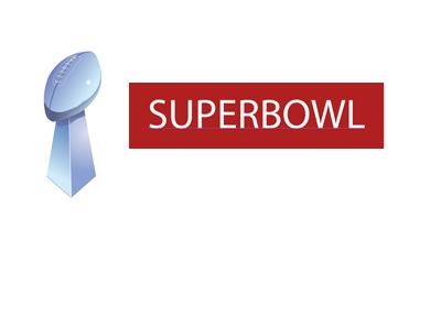 Concept signage for Superbowl 2017 - American football - Illustration.
