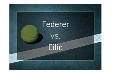 Roger Federer vs. Marin Cilic - Australian Open - Tennis match - Odds.