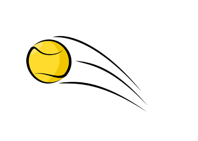 Tennis ball - The Bounce - Illustration.