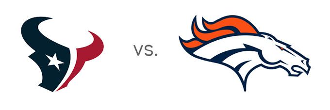 NFL Matchup - Texans vs. Broncos - Year 2016 - Matchup