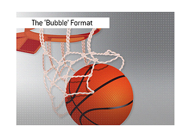 The 2020 NBA season - Bubble Format.