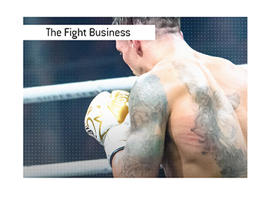 The business of professional boxing.  A new fight is in the making.