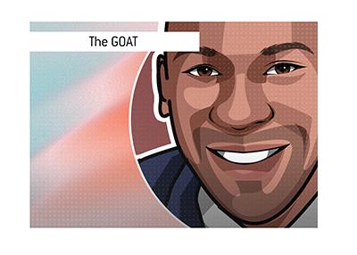 The GOAT - Michael Jordan.