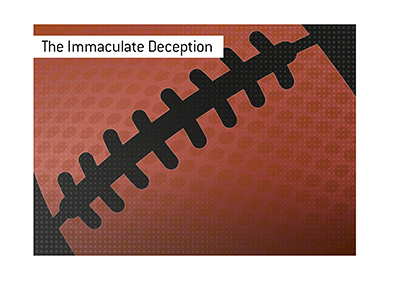 The Holly Roller - The Immaculate Deception - Football play for the ages.