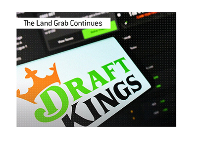 The land grab in the online gambling industry continues.  The latest acquisition involves DraftKings.