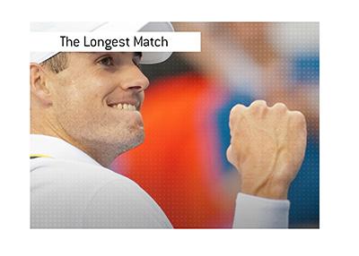 The longest tennis match in history had a winner in John Isner.