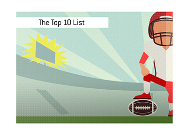 Here is the list of the top 10 highest scoring games in the National Football League.