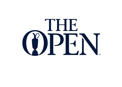 The Open - Golf tournament - Logo in blue colour
