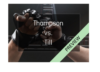 Stephen Wonderboy Thompson vs. Darren Till - MMA Walterweight fight - UFC Liverpool - Year 2018 - Preview.
