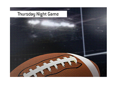 Thursday night football game - Eagles vs. Packers.  Bet on it!