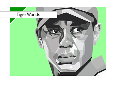 Tiger Woods is winning again and that is good news.  Illustration.