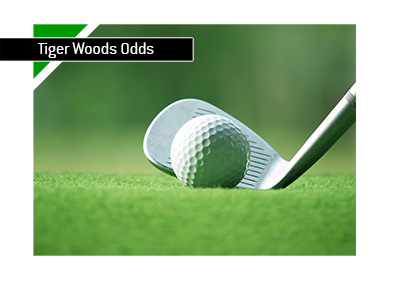 The update on Tiger Woods odds.  Woods is in good shape this season.