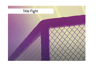 After a lengthy break, the MMA is back, with two title fights in the upcoming event.