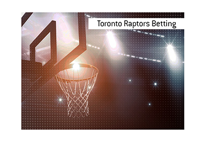 Betting on the only Canadian NBA team, Toronto Raptors, can be easily done online.