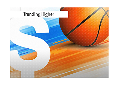 Sports betting is trending in the United States.