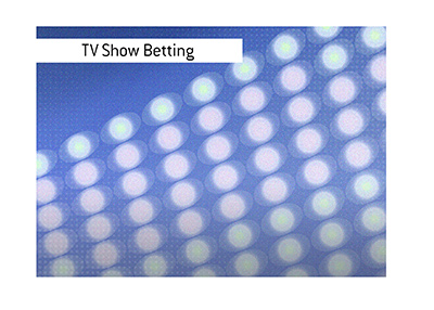 The danger of placing bets on pre-taped events, such as television shows.