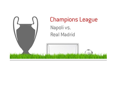 The UEFA Champions League 2016/17 season - Napoli vs. Real Madrid.