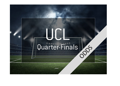 The odds and quick preview for 2017/18 Champions League quarter-finals.  Draw results.