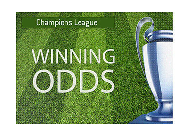 The UEFA Champions League quarter-finals winning odds.  The year is 2019.
