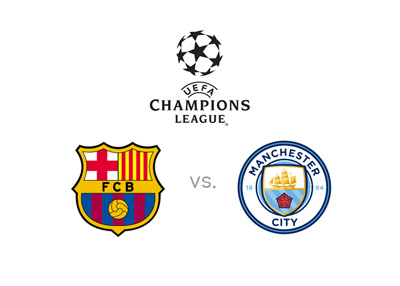 The 2016/17 season of the UEFA Champinos League - Barcelona vs. Manchester City - Odds, preview, matchup.