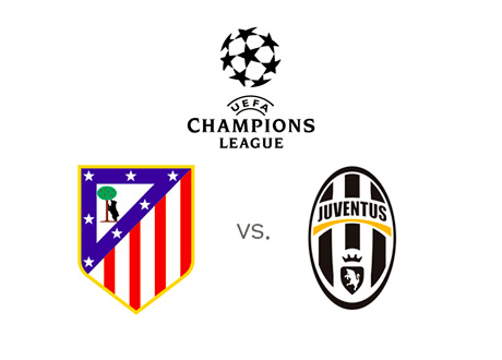 UEFA Champions League - Atletico Madrid vs. Juventus - Matchup - Team Logos