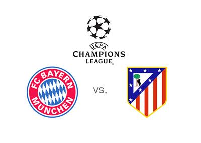Bayern Munich vs. Atletico Madrid - UEFA Champions League match - 2015/16 season
