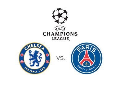 UEFA Champions League match - Chelsea FC vs. Paris Saint-Germain (PSG) - Preview and odds