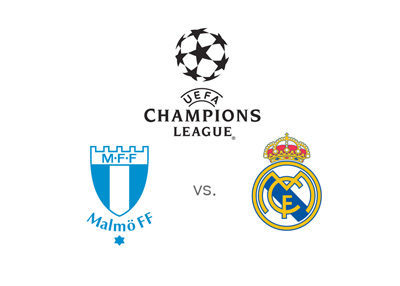 UEFA Champions League - Malmo vs. Real Madrid - Matchup, odds, preview and team badges