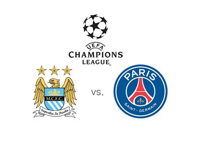 Upcoming matchup between Manchester City and Paris Saint-Germain (PSG) - UEFA Champions League