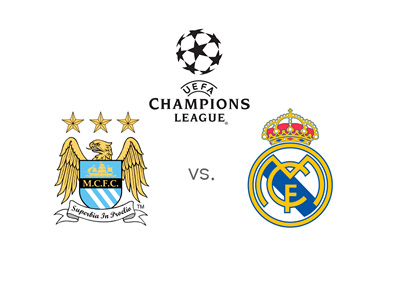 The UEFA Champions League matchup between Manchester City and Real Madrid - Year 2016