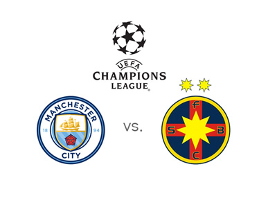 The UEFA Champions League qualifiers - Manchester City vs. Steaua Bucharest - 2016/17 season