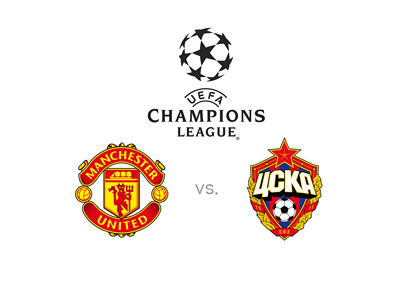 UEFA Champions League matchup - Manchester United vs. CSKA Moscow - Preview and odds