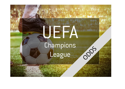 The UEFA Champions League - Odds - 2017/18 season - Quarter finals.
