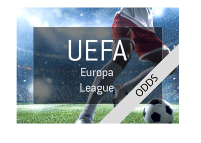The latest odds for the 2017/18 edition of the UEFA Europa League - Soccer tournament quarter-finals.  Artwork.