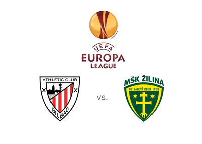 Athletic BIlbao vs. Zilina - UEFA Europa League matchup - and Odds