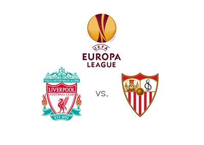 UEFA Europa League match - Liverpool vs. Sevilla - 2015/16 Semi-final - Second leg