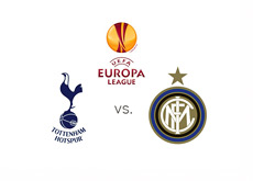 UEFA Europa League - Tottenham Hotspur vs. Inter Milan - Matchup and Logos