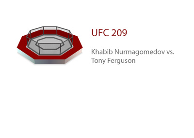 The UFC 209 matchup - Khabib Nurmagomedov vs. Tony Ferguson - Ultimate Fighting Championship - Odds and preview.