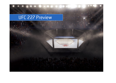 Ultimate Fighting Championship 227 - UFC - Fights preview and betting odds.