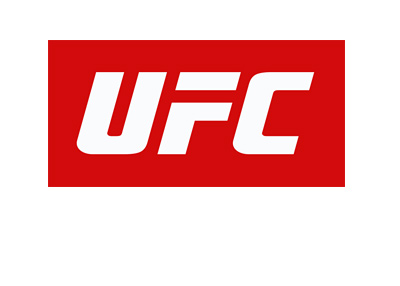 UFC logo - White on red - The Ultimate Fighting Championship